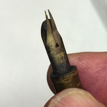 Bent waterman nib before 1