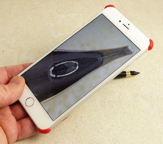 iCroScope in use iPhone 6 Plus